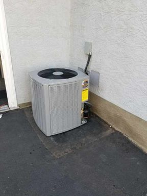 outdoor heating system unit