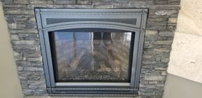 Residential fire place
